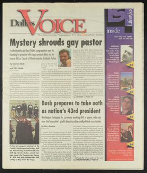 Primary view of object titled 'Dallas Voice (Dallas, Tex.), Vol. 17, No. 38, Ed. 1 Friday, January 19, 2001'.