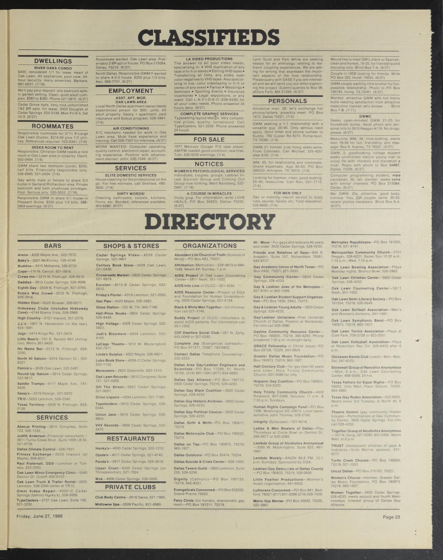 Escort directory dallas