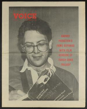 Primary view of object titled 'Dallas Voice (Dallas, Tex.), Vol. 5, No. 33, Ed. 1 Friday, December 16, 1988'.