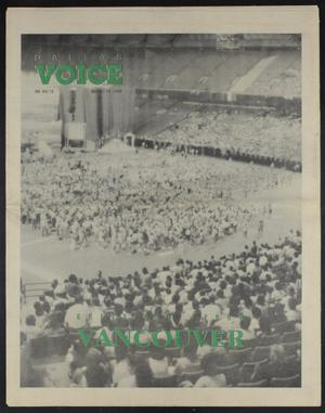 Primary view of object titled 'Dallas Voice (Dallas, Tex.), Vol. 7, No. 15, Ed. 1 Friday, August 10, 1990'.
