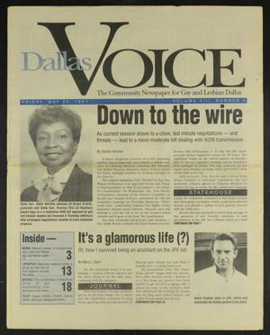 Primary view of object titled 'Dallas Voice (Dallas, Tex.), Vol. 8, No. 4, Ed. 1 Friday, May 24, 1991'.