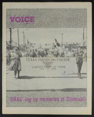 Primary view of object titled 'Dallas Voice (Dallas, Tex.), Vol. 6, No. 22, Ed. 1 Friday, September 29, 1989'.