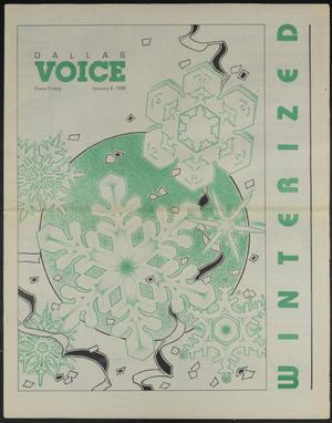 Primary view of object titled 'Dallas Voice (Dallas, Tex.), Vol. 4, No. 37, Ed. 1 Friday, January 8, 1988'.