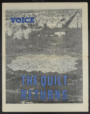 Primary view of object titled 'Dallas Voice (Dallas, Tex.), Vol. 5, No. 24, Ed. 1 Friday, October 14, 1988'.