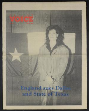 Primary view of object titled 'Dallas Voice (Dallas, Tex.), Vol. 7, No. 4, Ed. 1 Friday, May 25, 1990'.