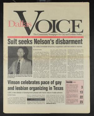 Primary view of object titled 'Dallas Voice (Dallas, Tex.), Vol. 9, No. 7, Ed. 1 Friday, June 12, 1992'.