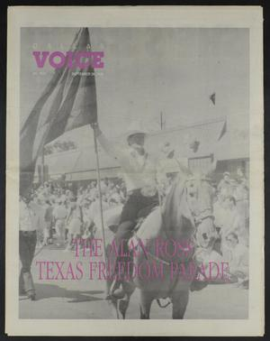 Primary view of object titled 'Dallas Voice (Dallas, Tex.), Vol. 7, No. 21, Ed. 1 Friday, September 28, 1990'.