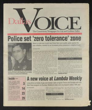 Primary view of object titled 'Dallas Voice (Dallas, Tex.), Vol. 9, No. 18, Ed. 1 Friday, August 28, 1992'.