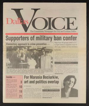 Primary view of object titled 'Dallas Voice (Dallas, Tex.), Vol. 9, No. 32, Ed. 1 Friday, December 4, 1992'.