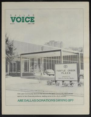 Primary view of object titled 'Dallas Voice (Dallas, Tex.), Vol. 6, No. 6, Ed. 1 Friday, June 9, 1989'.