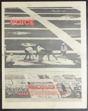 Primary view of object titled 'Dallas Voice (Dallas, Tex.), Vol. 5, No. 51, Ed. 1 Friday, April 21, 1989'.
