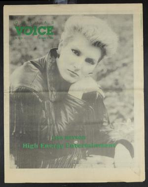 Primary view of object titled 'Dallas Voice (Dallas, Tex.), Vol. 6, No. 24, Ed. 1 Friday, October 13, 1989'.
