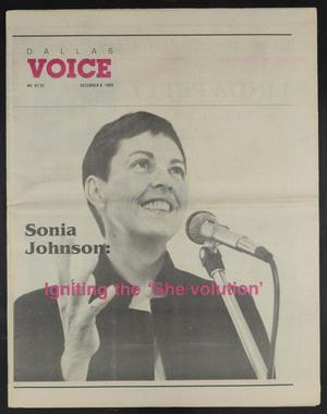 Primary view of object titled 'Dallas Voice (Dallas, Tex.), Vol. 6, No. 32, Ed. 1 Friday, December 8, 1989'.