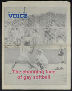 Primary view of object titled 'Dallas Voice (Dallas, Tex.), Vol. 7, No. 5, Ed. 1 Friday, June 1, 1990'.