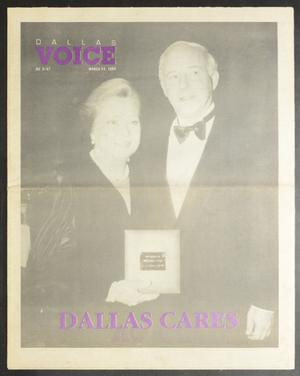 Primary view of object titled 'Dallas Voice (Dallas, Tex.), Vol. 5, No. 47, Ed. 1 Friday, March 24, 1989'.