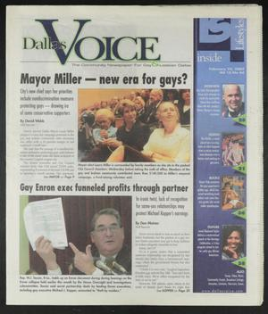 Primary view of object titled 'Dallas Voice (Dallas, Tex.), Vol. 18, No. 44, Ed. 1 Friday, February 22, 2002'.