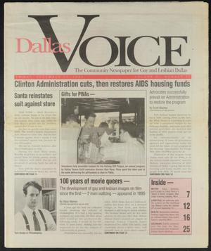 Primary view of object titled 'Dallas Voice (Dallas, Tex.), Vol. 11, No. 33, Ed. 1 Friday, December 23, 1994'.