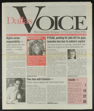 Primary view of object titled 'Dallas Voice (Dallas, Tex.), Vol. 12, No. 46, Ed. 1 Friday, March 15, 1996'.