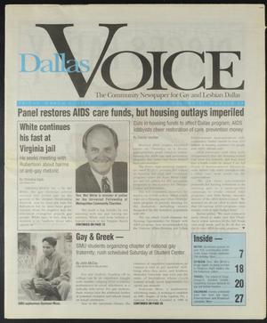 Primary view of object titled 'Dallas Voice (Dallas, Tex.), Vol. 11, No. 43, Ed. 1 Friday, March 3, 1995'.