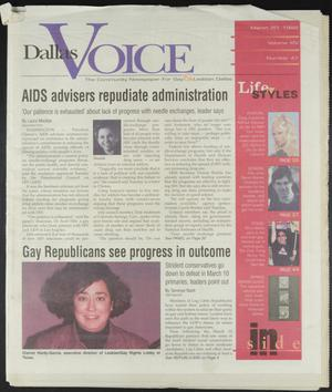 Primary view of object titled 'Dallas Voice (Dallas, Tex.), Vol. 14, No. 47, Ed. 1 Friday, March 20, 1998'.
