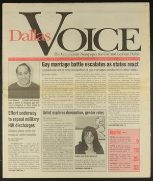 Primary view of object titled 'Dallas Voice (Dallas, Tex.), Vol. 12, No. 41, Ed. 1 Friday, February 9, 1996'.