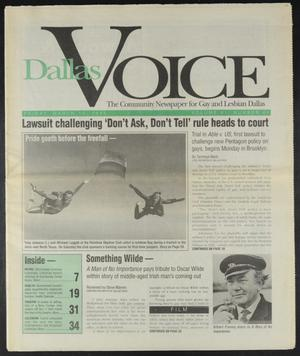 Primary view of object titled 'Dallas Voice (Dallas, Tex.), Vol. 11, No. 44, Ed. 1 Friday, March 10, 1995'.