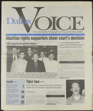 Primary view of object titled 'Dallas Voice (Dallas, Tex.), Vol. 10, No. 39, Ed. 1 Friday, January 28, 1994'.