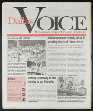 Primary view of object titled 'Dallas Voice (Dallas, Tex.), Vol. 13, No. 24, Ed. 1 Friday, October 11, 1996'.