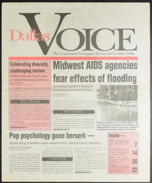 Primary view of object titled 'Dallas Voice (Dallas, Tex.), Vol. 10, No. 14, Ed. 1 Friday, August 6, 1993'.