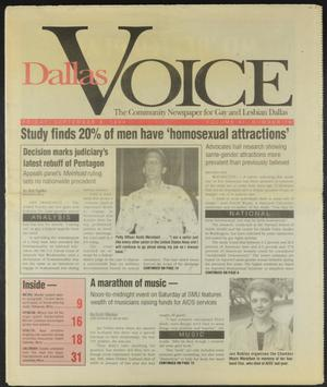 Primary view of object titled 'Dallas Voice (Dallas, Tex.), Vol. 11, No. 19, Ed. 1 Friday, September 9, 1994'.