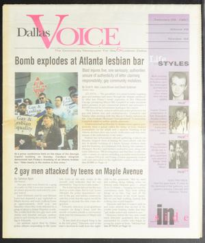 Primary view of object titled 'Dallas Voice (Dallas, Tex.), Vol. 13, No. 44, Ed. 1 Friday, February 28, 1997'.