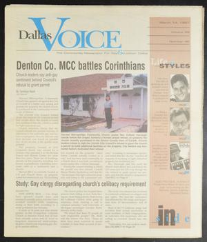 Primary view of object titled 'Dallas Voice (Dallas, Tex.), Vol. 13, No. 46, Ed. 1 Friday, March 14, 1997'.