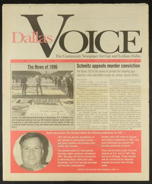 Primary view of object titled 'Dallas Voice (Dallas, Tex.), Vol. 13, No. 35, Ed. 1 Friday, December 27, 1996'.