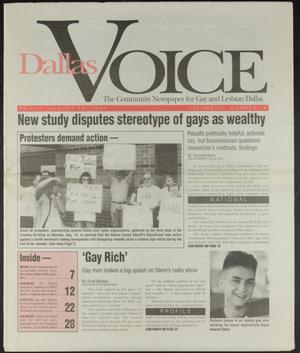 Primary view of object titled 'Dallas Voice (Dallas, Tex.), Vol. 11, No. 16, Ed. 1 Friday, August 19, 1994'.