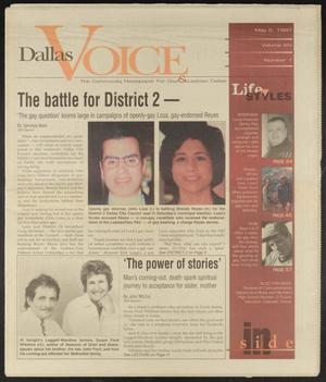 Primary view of object titled 'Dallas Voice (Dallas, Tex.), Vol. 14, No. 1, Ed. 1 Friday, May 2, 1997'.
