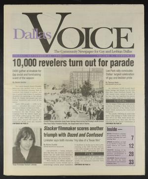 Primary view of object titled 'Dallas Voice (Dallas, Tex.), Vol. 10, No. 20, Ed. 1 Friday, September 24, 1993'.