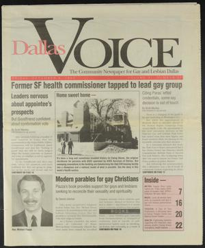 Primary view of object titled 'Dallas Voice (Dallas, Tex.), Vol. 11, No. 31, Ed. 1 Friday, December 9, 1994'.