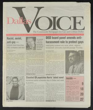 Primary view of object titled 'Dallas Voice (Dallas, Tex.), Vol. 12, No. 48, Ed. 1 Friday, March 29, 1996'.