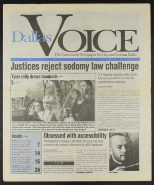 Primary view of object titled 'Dallas Voice (Dallas, Tex.), Vol. 10, No. 37, Ed. 1 Friday, January 14, 1994'.