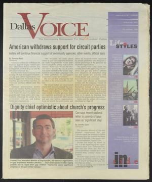 Primary view of object titled 'Dallas Voice (Dallas, Tex.), Vol. 14, No. 36, Ed. 1 Friday, January 2, 1998'.