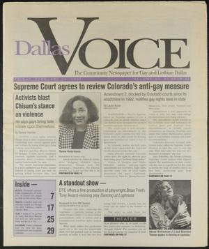 Primary view of object titled 'Dallas Voice (Dallas, Tex.), Vol. 11, No. 42, Ed. 1 Friday, February 24, 1995'.