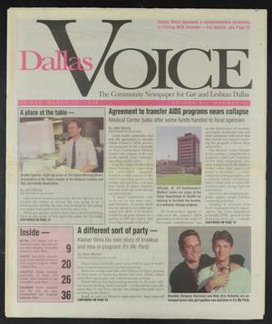 Primary view of object titled 'Dallas Voice (Dallas, Tex.), Vol. 12, No. 47, Ed. 1 Friday, March 22, 1996'.