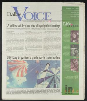 Primary view of object titled 'Dallas Voice (Dallas, Tex.), Vol. 14, No. 18, Ed. 1 Friday, August 29, 1997'.