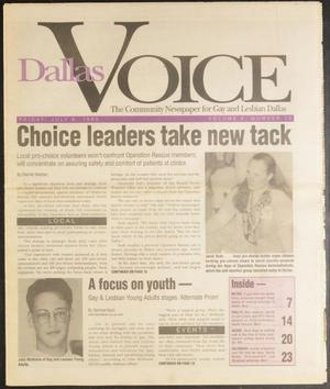 Primary view of object titled 'Dallas Voice (Dallas, Tex.), Vol. 10, No. 10, Ed. 1 Friday, July 9, 1993'.