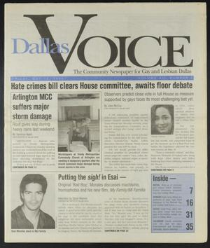 Primary view of object titled 'Dallas Voice (Dallas, Tex.), Vol. 12, No. 2, Ed. 1 Friday, May 12, 1995'.