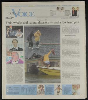 Primary view of object titled 'Dallas Voice (Dallas, Tex.), Vol. 22, No. 33, Ed. 1 Friday, December 30, 2005'.