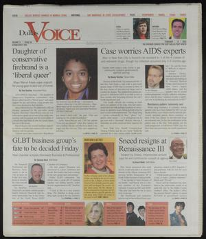Primary view of object titled 'Dallas Voice (Dallas, Tex.), Vol. 21, No. 40, Ed. 1 Friday, February 18, 2005'.