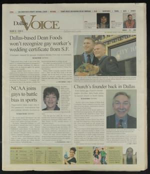 Primary view of object titled 'Dallas Voice (Dallas, Tex.), Vol. 20, No. 47, Ed. 1 Friday, March 26, 2004'.