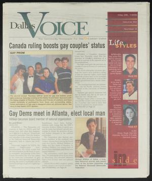 Primary view of object titled 'Dallas Voice (Dallas, Tex.), Vol. 16, No. 4, Ed. 1 Friday, May 28, 1999'.