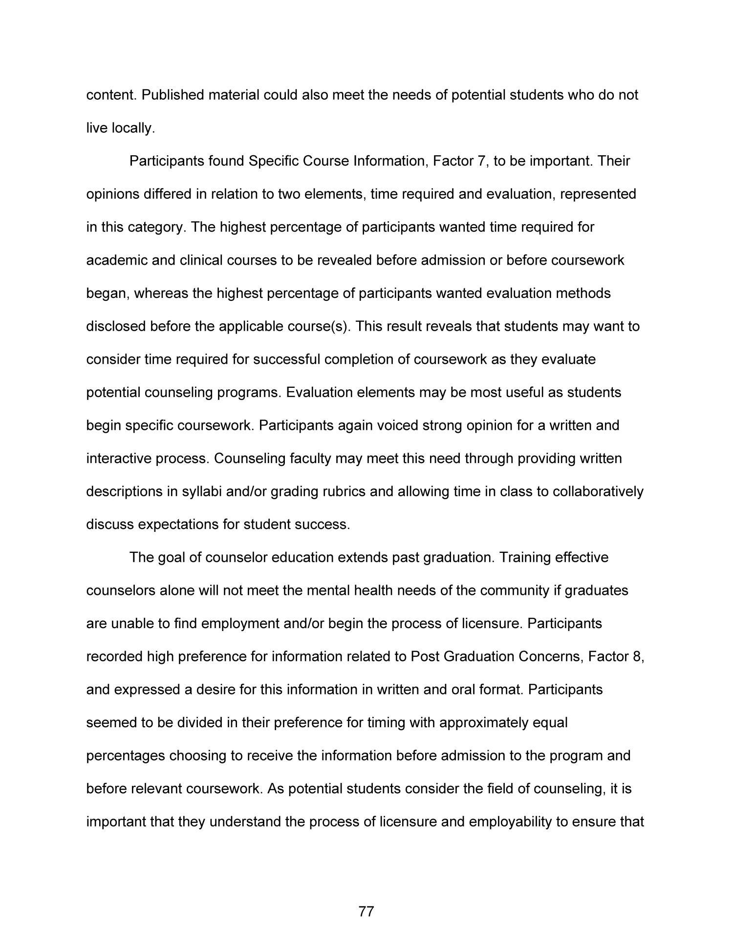 Bibliometric dissertation